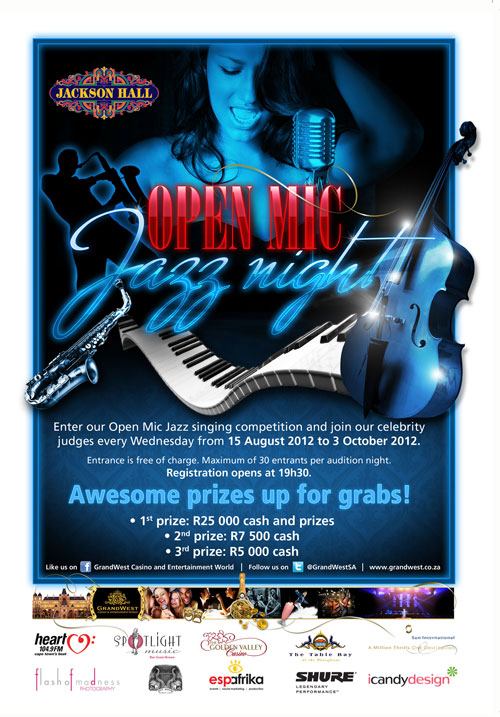Open Mic Jazz Singing Competition - 2012