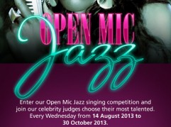 Open Mic Jazz Singing Competition 2013